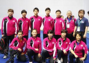 第六回世界Jr選手権大会日本代表団