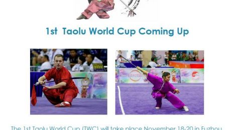 1th Wushu Taolu World Cup